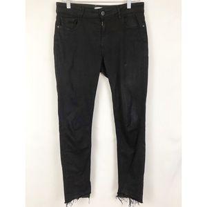 DL1961 Margaux Ankle Skinny Jeans Black 28